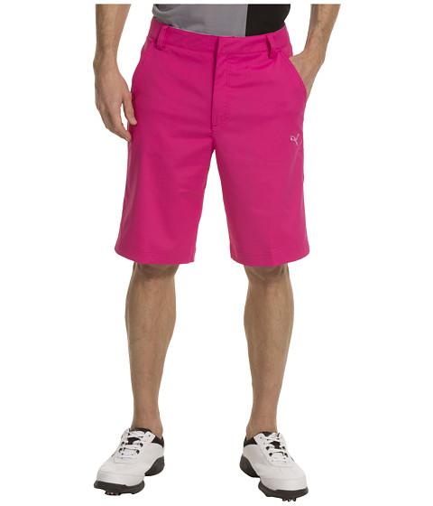 Pantaloni PUMA - Golf Tech Short \13 - Cabaret