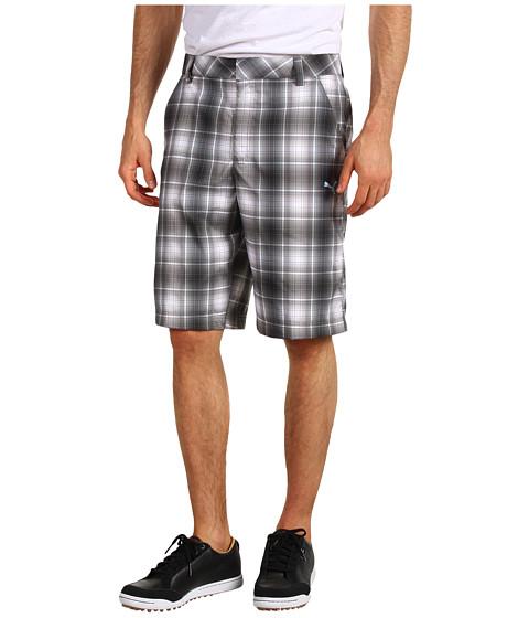 Pantaloni PUMA - Ombre Plaid Tech Short \13 - Black
