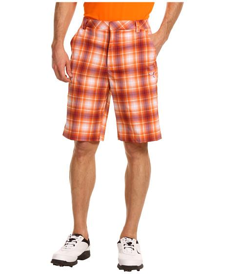 Pantaloni PUMA - Ombre Plaid Tech Short \13 - White Beet Red