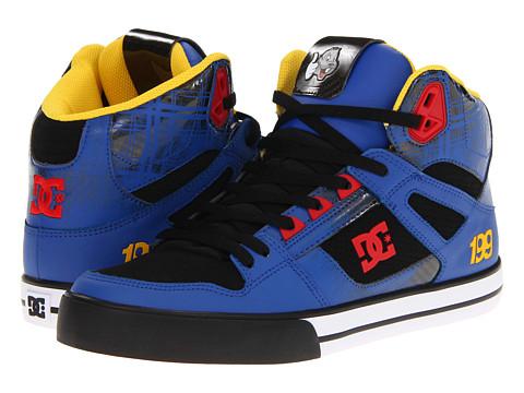 Adidasi DC - Spartan HI WC x Travis Pastrana - Black/Royal
