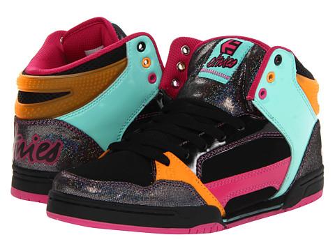 Adidasi etnies - Uptown 2.0 W - Black/Pink/Green