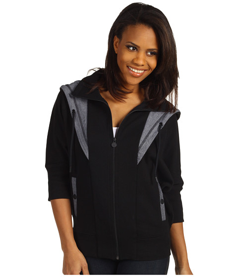 Bluze PUMA - MLS Fab Mix Fleece - Black