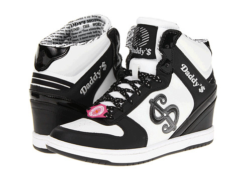 Adidasi SKECHERS - Daddy\s Money - Gimme Moolah - Black/White