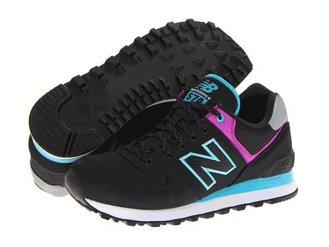 Adidasi New Balance - WL574 - Ripstop - Black 2