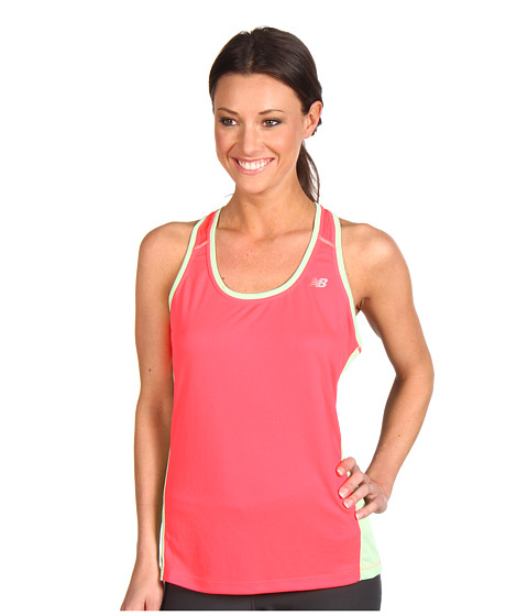 Tricouri New Balance - Get Running Racerback - Diva Pink