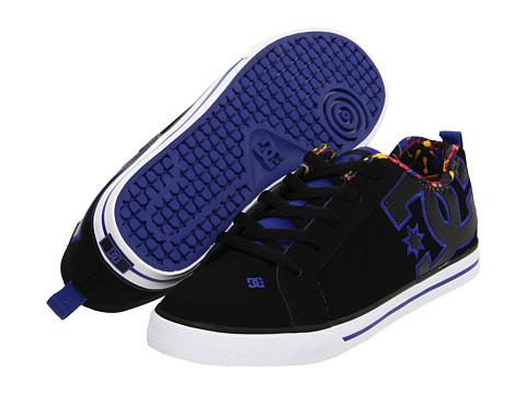 Adidasi DC - Court Graffik Vulc SE W - Black/Purple