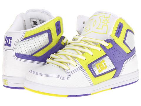 Adidasi DC - Destroyer HI W - White/Purple