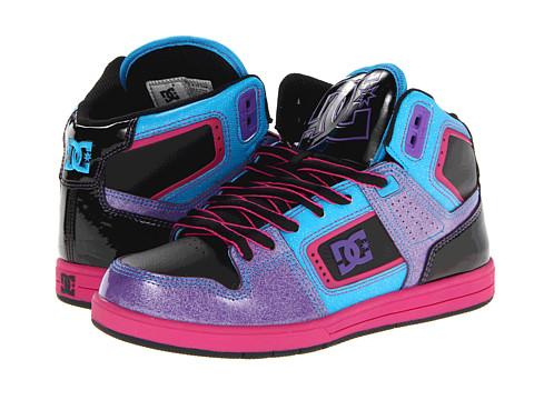 Adidasi DC - Destroyer HI W - Black/Fluorescent Purple