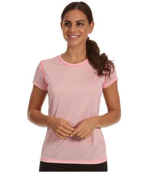 Tricouri New Balance - Heather Short Sleeve - Diva Pink