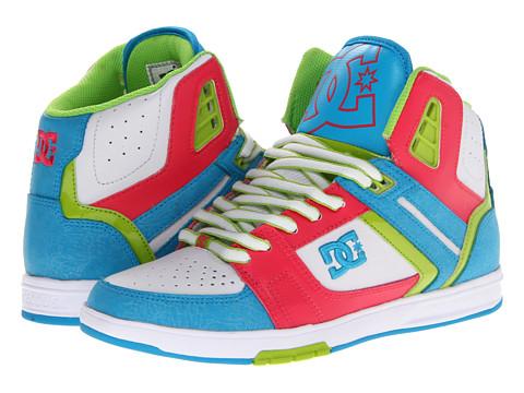Adidasi DC - Stance HI W - White/Blue/Red