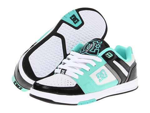 Adidasi DC - Stance Low W - White/Black/Green