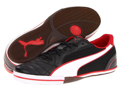 Adidasi PUMA - Momentta Vulc Sala - Black/White/Ribbon Red