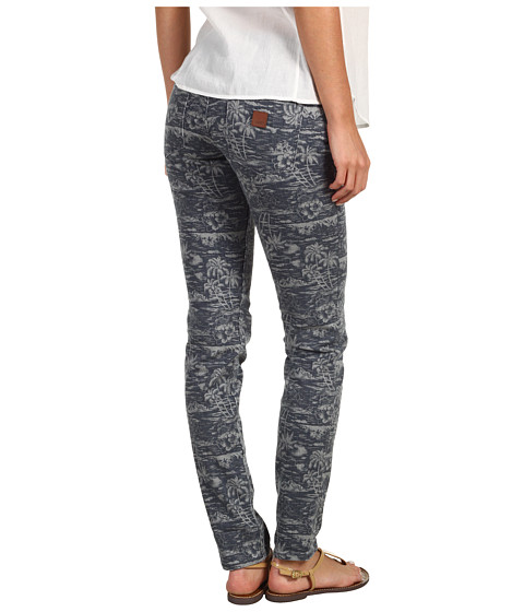 Pantaloni Roxy - Sunburners Pant - Blue Black Print