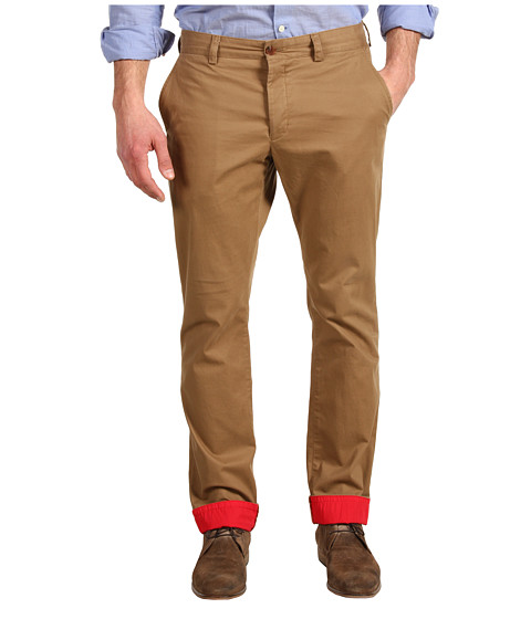 Pantaloni French Connection - Colorful Interior Kent Trouser - Old Tobacco/Racer