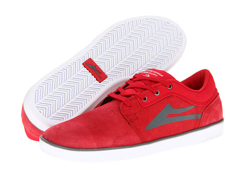 Adidasi Lakai - Howard - Red Suede
