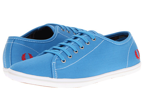 Pantofi Fred Perry - Phoenix Canvas - Kingfisher