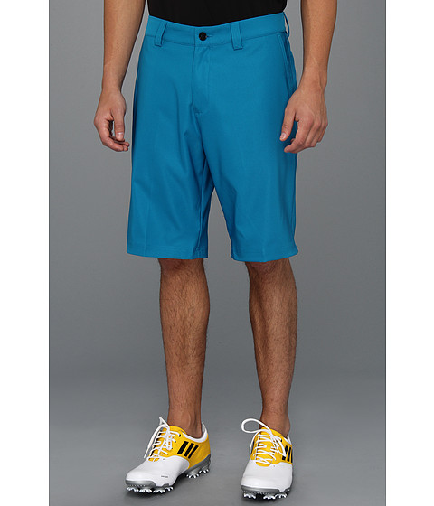 Pantaloni adidas - ClimaLiteî Flat Front Short \13 - Marine/White