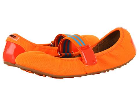 Balerini Nine West - DasBoot - Orange Combo Fabric