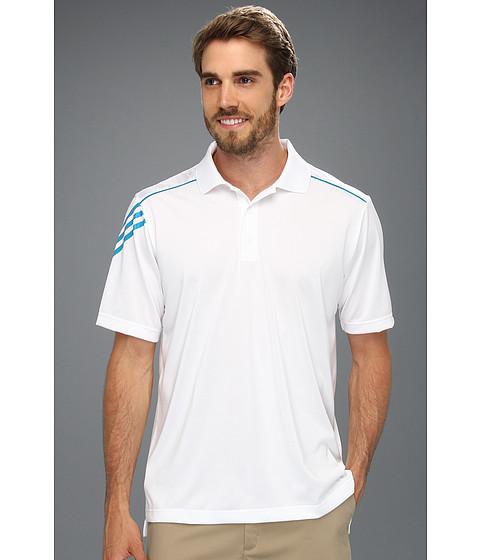 Tricouri adidas - ClimaCoolî 3-Stripes Polo \13 - White/Marine