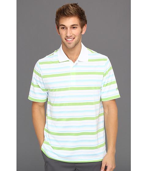 Tricouri adidas - ClimaLiteî Bar Stripe Polo \13 - White/Waterfall/Island