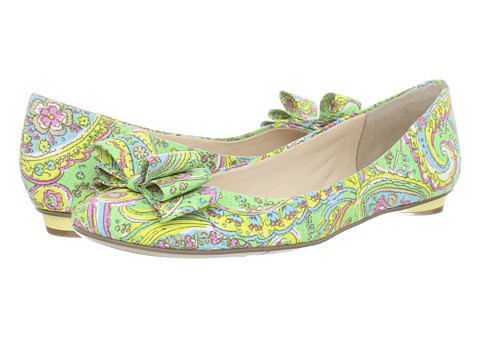 Balerini Nine West - Reid - Green Multi Fabric