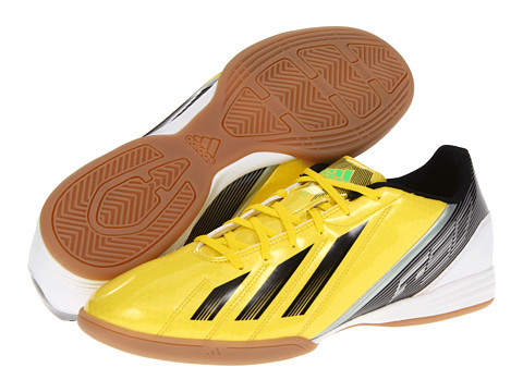Adidasi adidas - F10 IN 2012 - Vivid Yellow/Black/Green Zest
