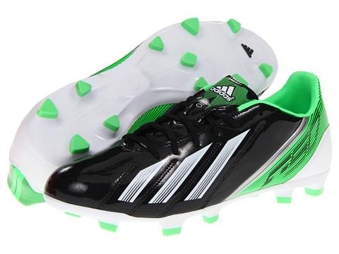 Adidasi adidas - F10 TRX FG 2012 - Black/Running White/Green Zest