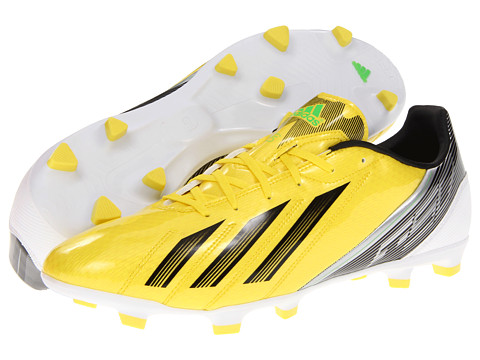Adidasi adidas - F10 TRX FG 2012 - Vivid Yellow/Black/Green Zest