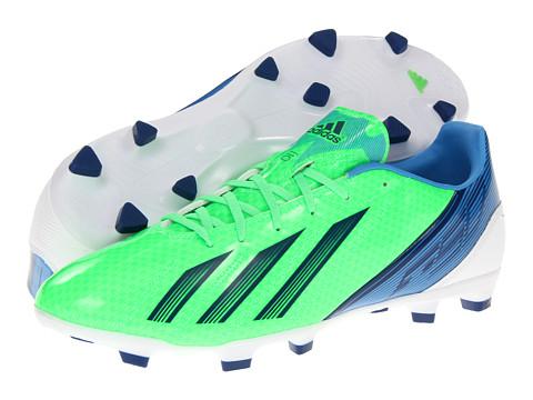 Adidasi adidas - F10 TRX FG 2012 - Green Zest/Running White/Dark Blue