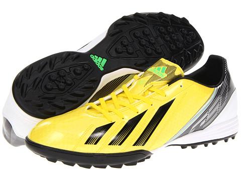 Adidasi adidas - F10 TRX TF 2012 - Vivid Yellow/Black/Green Zest