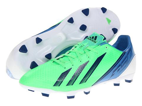 Adidasi adidas - F30 TRX FG 2012 - Green Zest/Running White/Dark Blue