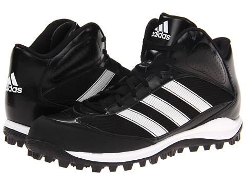 Adidasi adidas - Turf Hog LX Mid - Baseball - Black/Running White/Metallic Silver