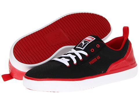 Adidasi PUMA - Zanthem S Lite - Black/Ribbon Red/White