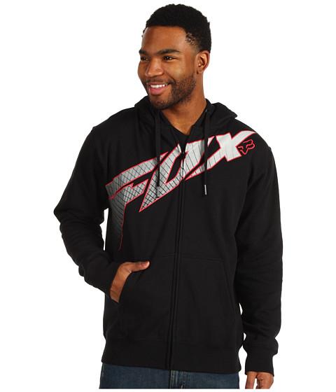 Bluze Fox - Redcard Zip Front Hoody - Black