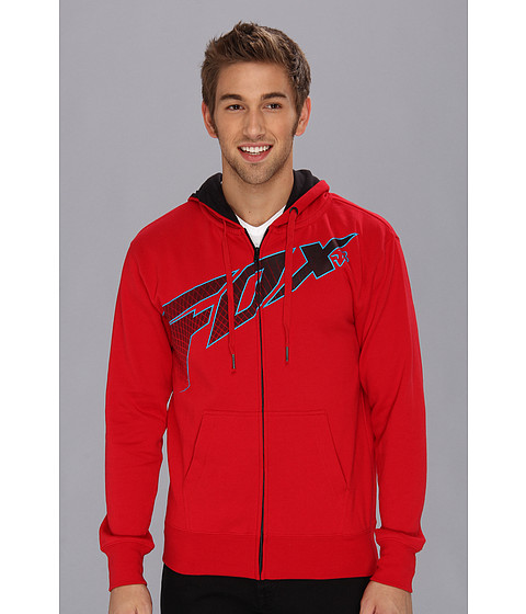 Bluze Fox - Redcard Zip Front Hoody - Red