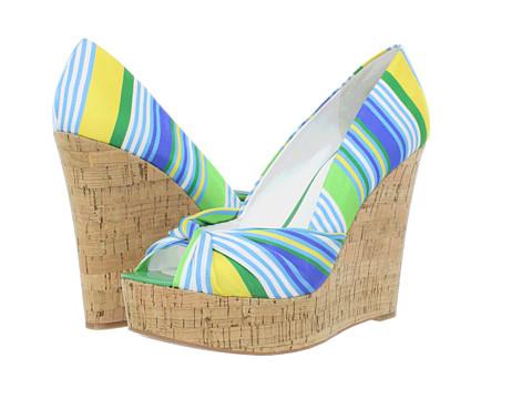 Pantofi Nine West - ChillPill - Green Multi Fabric