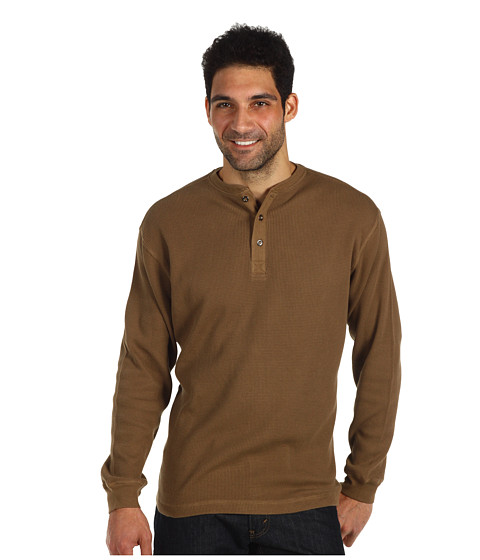 Bluze Fitzwell - Thermal Henley - Antelope