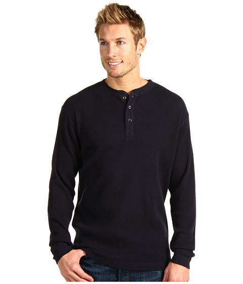 Bluze Fitzwell - Thermal Henley - Navy