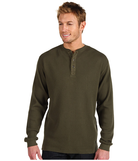 Bluze Fitzwell - Thermal Henley - Olive