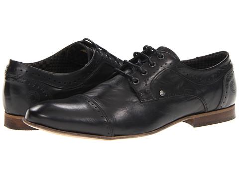 Pantofi Steve Madden - Flboynt - Black Leather