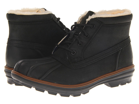 Ghete Cole Haan - Air Scout Chukka - Black Waterproof/Shearling