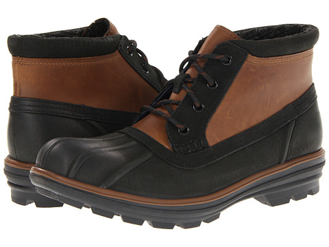 Ghete Cole Haan - Air Scout Chukka - Black/Brown Waterproof