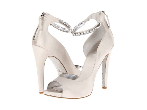 Pantofi Nine West - JusSkippy - Silver Synthetic