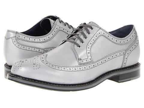 Pantofi Cole Haan - Cooper Square Wingtip - Silver Reflective