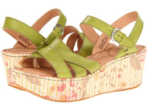 Sandale Born - Aruba - Garden (Green) Full Grain Leather