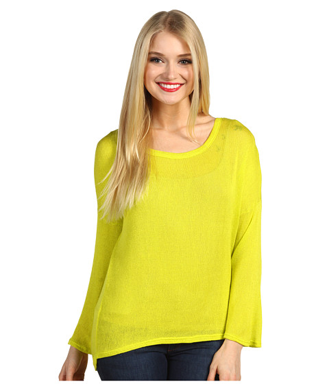 Bluze Type Z - Calle L/S Top - Chartreuse