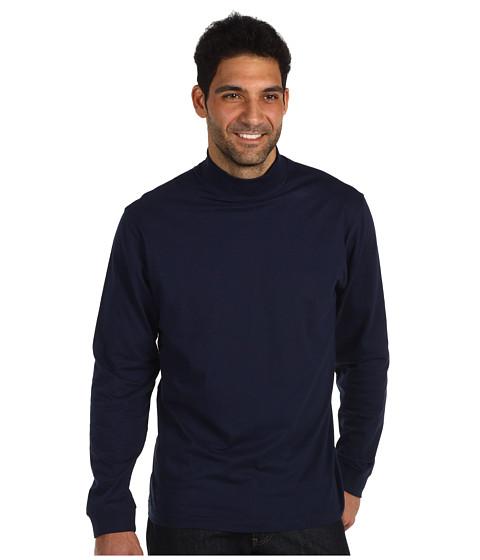 Bluze Fitzwell - Jersey Mockneck - Navy