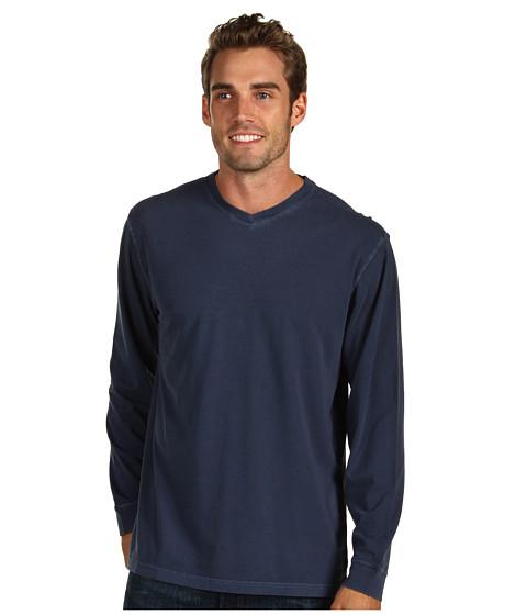 Bluze Fitzwell - Pigment V-Neck - Navy