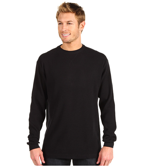 Bluze Fitzwell - Thermal Crew - Black