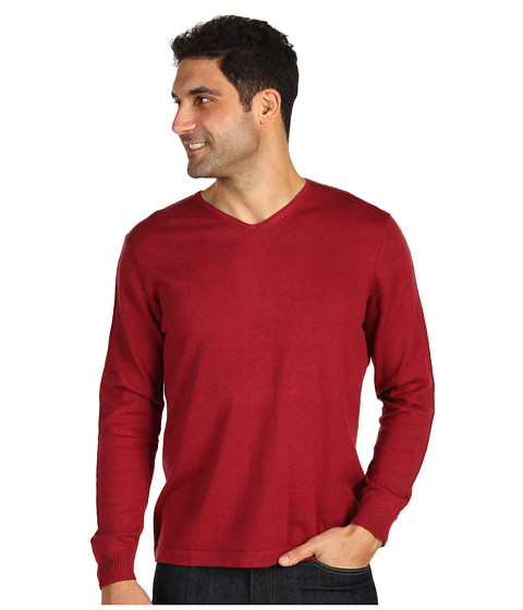 Bluze Tommy Bahama - Island Luxe V-Neck - Ember Red